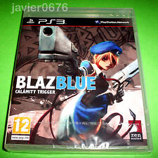 BLAZBLUE CALAMITY TRIGGER NUEVO Y PRECINTADO PAL ESPAÑA PLAYSTATION 3 PS3