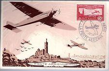B0158+   SALON  PHILATELIQUE  PARIS  AVIATION  1943