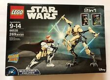 LEGO Star Wars Constraction Co-Pack 66535 Obi Wan And General Grievous- Retired