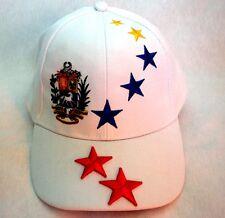Hat Gorras Blancas Venezuela 7 Estrellas Tricolor Venezuela Cap