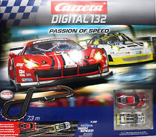 Carrera Digital 132 Passion of Speed Porsche Ferrari [F]