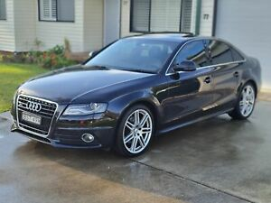 2009 Audi A4 8K S-Line *QUATTRO* AWD 3.0L V6 Turbo Diesel *Low Reserve* Damaged