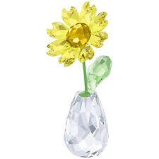 NEW SWAROVSKI FLOWER DREAMS SUNFLOWER #5254311 BRAND NEW IN BOX YELLOW NICE F/SH