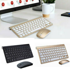 2.4G Wireless Portable Keyboard Ultra Slim With Mouse for iMac/Laptop/PC US