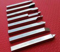 8mm Hss Lathe Form Tools Set 8 Pieces Set Square Shank Lathe Pre - Formed Tools