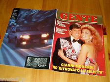 GENTE=1987/12=GIANNI MORANDI=CECILIA GASDIA=SERAVALLE SESIA=BUSSOLENO=FERZETTI=