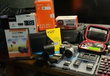 Sony Alpha A6000 Mirrorless Digital Camera w16-50mm & 55-210mm Lenses + EXTRAS