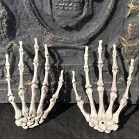 Halloween Skull Skeleton Human Hand Bone Zombie Party Terror Adult Scary Gw