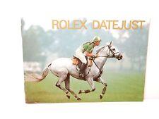 Rolex watch Booklet Datejust 1994