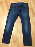 WORN Mens Diesel THOMMER Stretch Denim 084BV DARK BLUE Slim W29 L27 H6 RRP£150