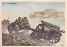 C1802) 12 REGGIMENTO ARTIGLIERIA DI CORPO D'ARMATA. ILL. BOCCASILE. VIAGGIATA.