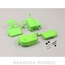 Kyosho MP9 TKI3 Battery & Receiver Box Set (Green) - KYOIFF001KG