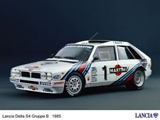 A3 LANCIA 1985 DELTA S4 GROUP Advert Wall Poster Brochure Art Picture Print