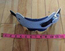 1 Burton Freestyle Sz S Snowboard Ankle Strap Beige and blue