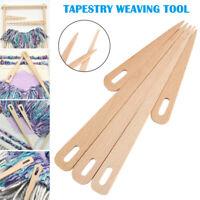 5Pcs Wood Hand Looms Stick Weaving Crochet Needle Tapestry DIY Crafts Tool
