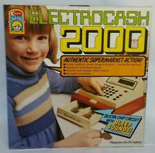 Crescent Toy Electronic Cash Register in unopened Box (40 years)