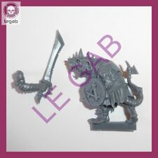 IDS-SK09 WARHAMMER BATTLE ISLAND OF BLOOD SKAVEN CLANRATS CLAW PUNTERO CHAMPION