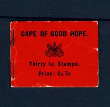 CAPE OF GOOD HOPE SOUTH AFRICA KE VII 1905 STAMP BOOKLET SG SB1 PRISTINE CONTENT