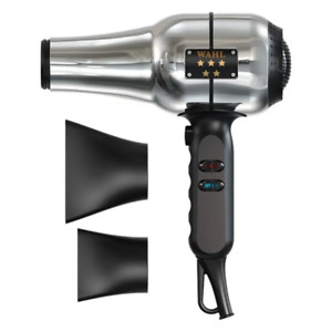 Wahl Professional Retro-Chrome 5 Star series Ionic Barber Dryer Concentrated Air