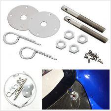 "Car Engine Hood Locks Muscle 3/16"" Hair Pin Style Hood Latch Pin Bonnet Lock Set"