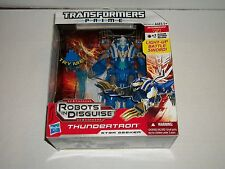 Hasbro TRANSFORMERS PRIME Robots In Disguise Voyager THUNDERTRON MINT/SEALED NEW