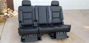 2007-2021 Tahoe, Escalade, & Yukon Denali second 2nd row bench seat leather OEM