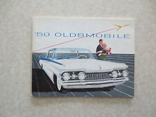 Original 1959 Oldsmobile automobile promotional booklet