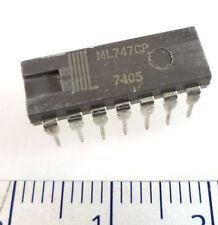 IIIIL ML747CP General Purpose Op Amp 14P DIL Vintage Dated 1974 OM026A