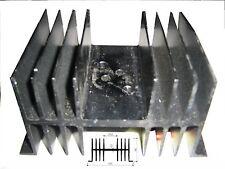Dissipatore Termico in alluminio per elettronica con 1 posto TO-3 120x64x74mm