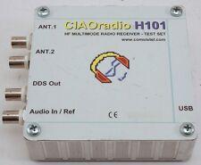 CIAO radio H101 HF 0.1-30 MHz MULTIMODE SDR RADIO RECEIVER - TEST SET COMSISTEL