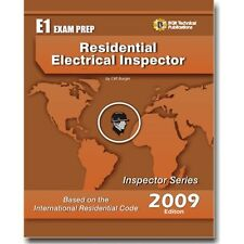 E1  NEC ICC  Residential Electrical Inspector Code Exam Questions Workbook 2009