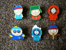6 SOUTH PARK  PIN BADGES