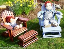 Child Size Adirondack Chair Paper Plans Easy Diy Patterns Build It Like A Expert