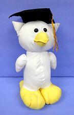 "12"" Graduation Autograph Owl School kids Toy Novelty Student Party Gift"