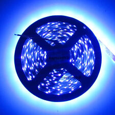 UV Purple 395nm 3528 SMD 16.4ft 5M 300 LEDS Flex Strip Light Non-Waterproof 12V