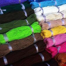 Baumwollband gewachst Pink A157-80 Meter// 1mm 80 lfm 0,11€  // 1 lfm