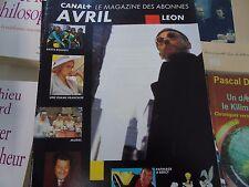 Magazine canal + n°102 1996 léon muriel rasta rockett une femme française