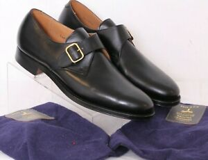 NEW Brooks Brother Peal & Co. Monk Strap Buckle Oxford Shoes Men's US 8D