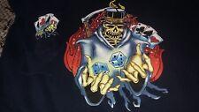 XL Vintage 90s JNCO Jeans HOODIE rap rock tour skateboard joker supreme icp card