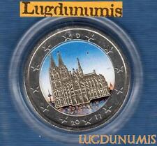 2 euro Commémo Couleur Color - Allemagne 2011 Cathédrale de Cologne D Munich