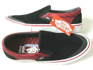 Vans Mens Slip On Pro Baker Skateboards Rowan Zorilla Speed Check shoes Size 12