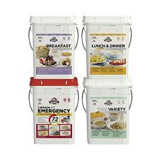 Augason Farms Emergency Food Supply Kit - 4 Pails NEW NEW NEW