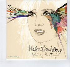 (GR424) Helen Boulding, Calling All Angels sampler - 2012 DJ CD