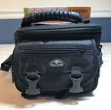 Samsonite Photo Video Camera Bag 6 Pockets Strap Protective 817BK Black NWT