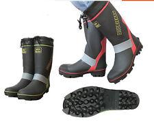 Mens Waterproof Rain Hunting Non Slip Fishing Boots Long Boots for Sea Fishing