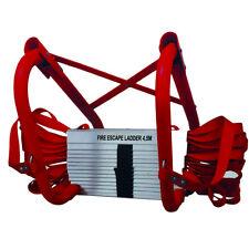 Rettungs-leiter Feuer-leiter Brand-leiter Notfalleiter Notleiter Fallleiter 4,5m