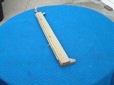 Wurlitzer center rear wood support bar for a 50's model 1800 thru 2300 ?