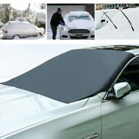 1X Magnetic Car Windshield Snow Cover Winter Ice Frost Guard Sunshade Protector