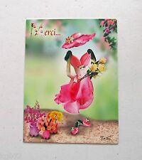 Leanin Tree Thank You Greeting Card Flowers Multi Color R18