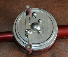 Rare Pre-1953 Good All Side Casting Pole Reel Combo Freshwater Fishing Works 5'4